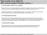 Cover Letter for after School Program after School Program Cover Letter Samples Templates