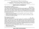 Cover Letter for after School Program after School Program Resume Best Resume Collection