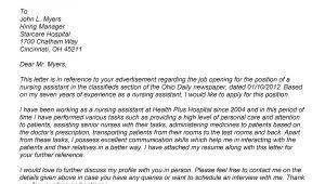 Cover Letter for Ain Nursing Cover Letter Samples Nursing assistant Cover Letter for