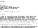 Cover Letter for Airline Customer Service Agent Airline Customer Service Agent Cover Letter Sample Resumes