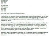 Cover Letter for Any Open Position Sales Support Cover Letter Example In Cover Letters Page
