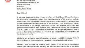 Cover Letter for Architecture Firm Architects and the Aia Life Of An Architect