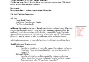 Cover Letter for assistant Professor Post Best Photos Of Cover Letter for Adjunct Teaching Position