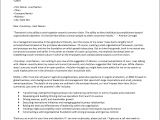 Cover Letter for Automotive Industry Cover Letter Example Agricultural Industry Executive