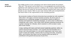 Cover Letter for Bain and Company Bain Cover Letter Sample