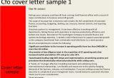 Cover Letter for Cfo Position Cfo Cover Letter