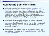 Cover Letter for Company Not Hiring Cover Letters and Business Letters Ppt Video Online Download