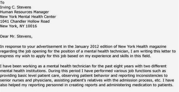 Cover Letter for Counseling Position Cover Letters and Mental Health Counseling Resume