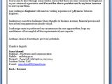 Cover Letter for Electronics Engineer Fresher Writing A Cover Letter for A Job