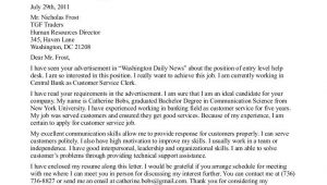 Cover Letter for Entry Level Sales Position Cover Letter for Commonwealth Of Mass Position Perfect