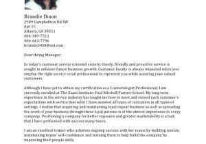 Cover Letter for Esthetician Position Esthetician Cover Letter Resume Badak
