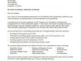 Cover Letter for event Coordinator Position event Coordinator Cover Letter Sample Monster Com