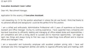 Cover Letter for Executive assistant to Ceo Executive assistant Cover Letter Example Icover org Uk
