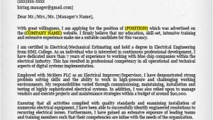 Cover Letter for Experienced Electrical Engineer Engineering Cover Letter Templates Resume Genius