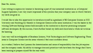 Cover Letter for Faculty Position Computer Science Cover Letter Computer Science Professor 28 Images
