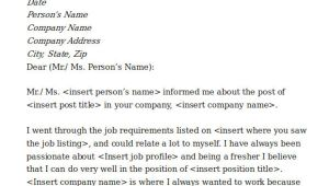 Cover Letter for Fresher Computer Engineer 5 Cover Letters for software Engineer Sample Templates