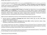 Cover Letter for Fresher Computer Engineer software Developer Cover Letter Letters Font