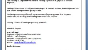 Cover Letter for Fresher Electronics Engineer Writing A Cover Letter for A Job