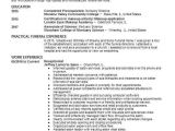 Cover Letter for Funeral assistant assistant Funeral Director Resume Example Stuart Mortuary