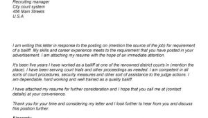 Cover Letter for Future Positions Cover Letter for Job Opening the Letter Sample