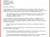 Cover Letter for Future Positions One Paragraph Cover Letter Memo Example