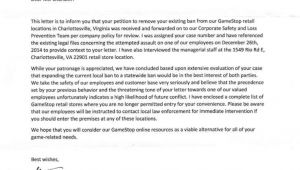 Cover Letter for Gamestop Permanent Ban From Gamestop Chris Chan Cwc Christian