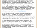 Cover Letter for Home Depot Securitycurmudgeon Com the Home Depot Letter Of Shame