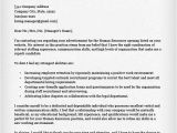 Cover Letter for Hr Role Human Resources Cover Letter Sample Resume Genius
