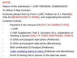 Cover Letter for I 129f K1 Visa Cover Letter Example