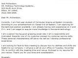 Cover Letter for Internship In software Company Cover Letter for Internship In software Company Letter