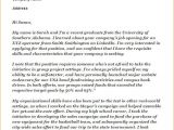 Cover Letter for Internship Position with No Experience Writing A Cover Letter with No Experience Example
