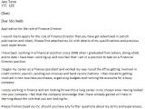 Cover Letter for It Director Position Finance Director Cover Letter Example Icover org Uk