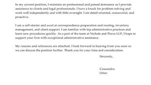Cover Letter for Law Firm Receptionist Best Legal Receptionist Cover Letter Examples Livecareer