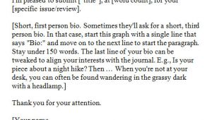 Cover Letter for Literary Submission Lora Rivera How to Submit to Literary Journals