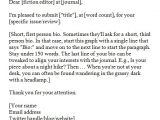 Cover Letter for Magazine Submission Cover Letter for Literary Magazine Letter Of Recommendation