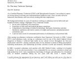 Cover Letter for Network Technician Network Technician Cover Letter No Experience
