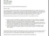 Cover Letter for Oil Company Commissioning Engineer Cover Letter Sample Cover Letter