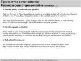 Cover Letter for Patient Access Representative Patient Service Representative Resume Template Resume