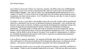 Cover Letter for Program Manager Position Program Manager Cover Letter Resume Badak