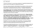 Cover Letter for Questionnaire Surveys Free organisation Invitations to Canada
