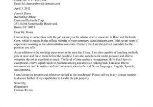 Cover Letter for Sales associate Position with No Experience Cover Letter Sample for Sales associate Resignation