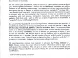 Cover Letter for School Board Complaint Letter to School Board Sample