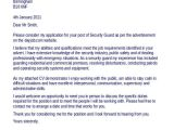 Cover Letter for Security Officer Position Security Guard Cover Letter Musiccityspiritsandcocktail Com