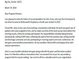Cover Letter for Shadowing A Doctor Reference Letter Sample Medical Doctor
