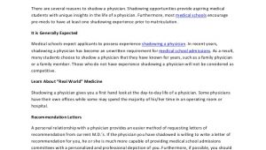 Cover Letter for Shadowing A Doctor Should Canada Do Business with Saudi Arabia Michael 39 S