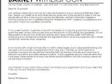 Cover Letter for Site Supervisor Security Supervisor Cover Letter Sample Cover Letter