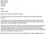 Cover Letter for software Developer Internship Cover Letter software Engineer Resume Badak