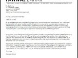 Cover Letter for Tax Position Tax Consultant Cover Letter Sample Cover Letter