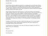Cover Letter for the Post Of Lecturer 6 Sample Application Letter for the Post Of Teacher Gin