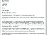 Cover Letter for the Post Of Lecturer Application Letter for the Post Of Teacher Examples